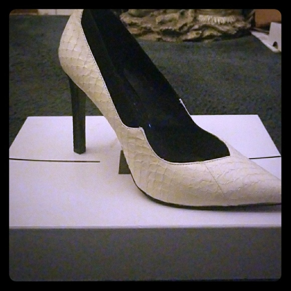 cfc9b9a0a6 Dolce Vita Shoes | Karine Off White Pointy Toe Tuxedo Pump | Poshmark